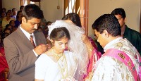 Wedding Anitha and Vinoj Villoothara.