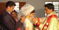 Wedding Joselin Vattamattathil and Santhosh Koottumkal.