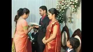 Wedding of Joshi and Anisha Vattamattam.